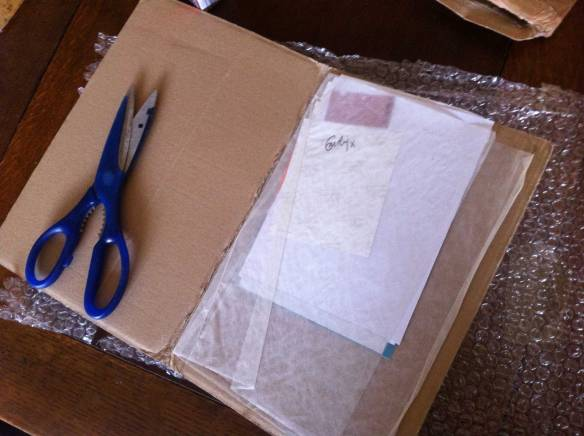 parcel-open